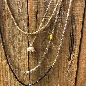 Loft 4 chain necklace